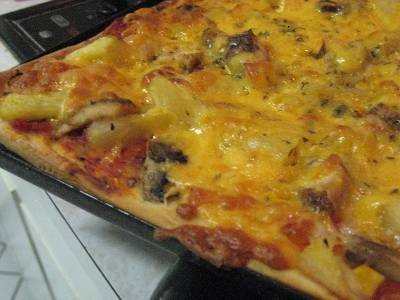 Sweet Chilli Chicken Pizza Topping